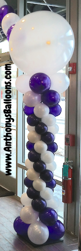 Curvy Balloon Column