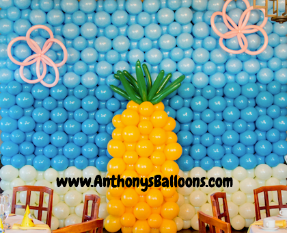 Sponge Bob Square Pants Balloon Wall