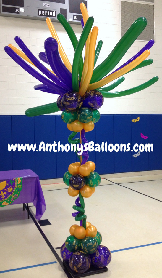 Crazy Balloon Column