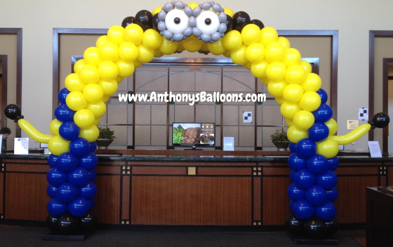 Minion Balloon Arch