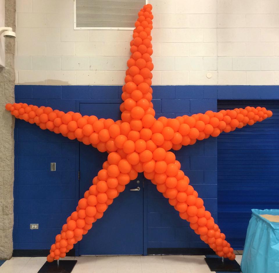 StarFish Balloon Sculpture