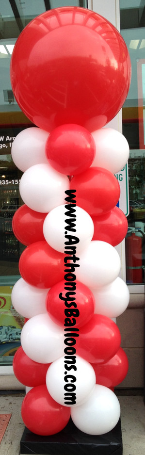 Outdoor Balloon Column