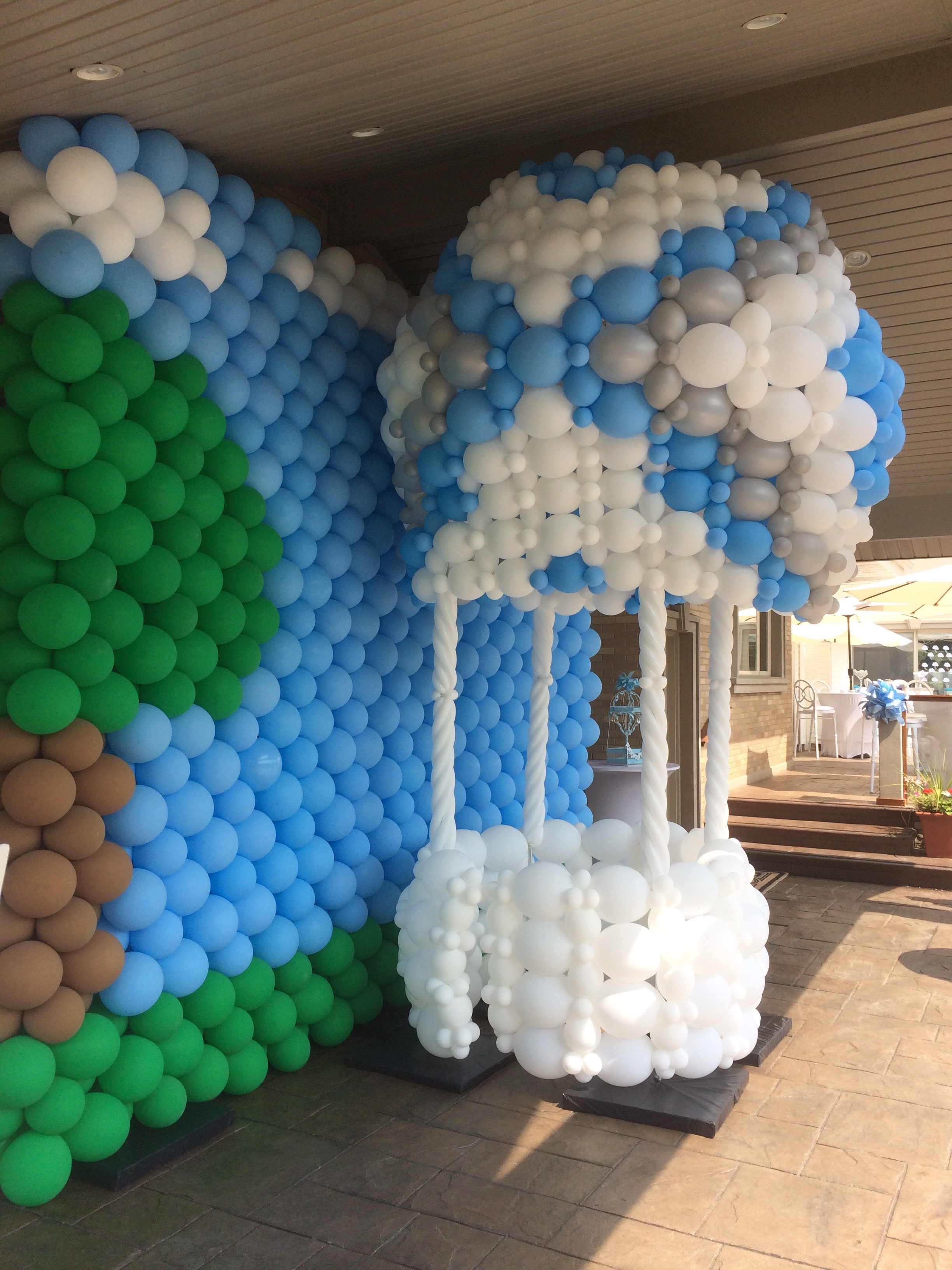 Hot Air Balloon Sculpture