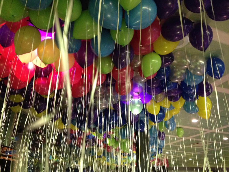 Helium Balloons in Bulk