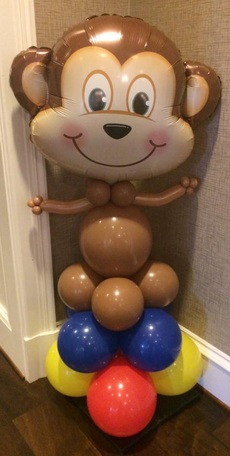 Monkey Character Balloon