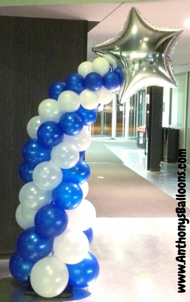 Shooting Star Balloon Column