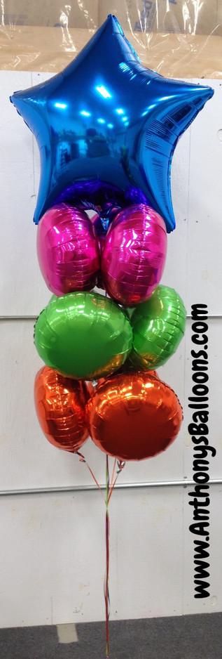 Latex-Free Large Helium Arrangement