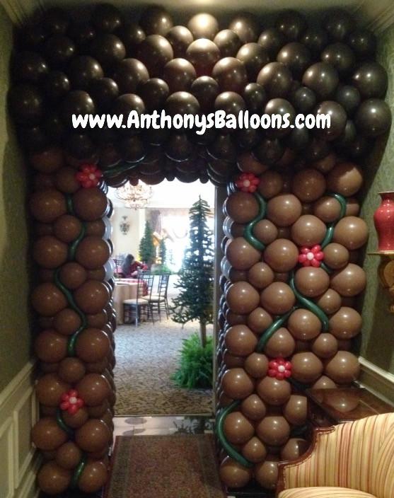 Log Cabin Balloon Tunnel