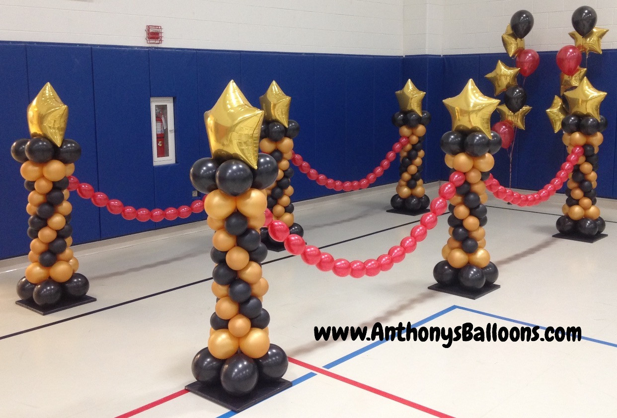 Mini Columns & Balloon Chains