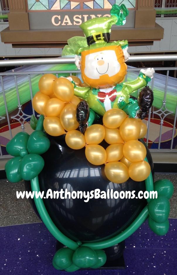 Pot of Gold Balloon Sculpture