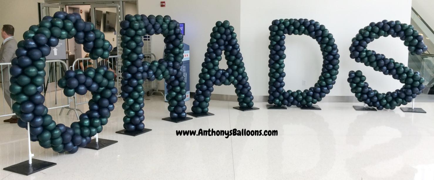 Grads Balloon Letters - 6ft