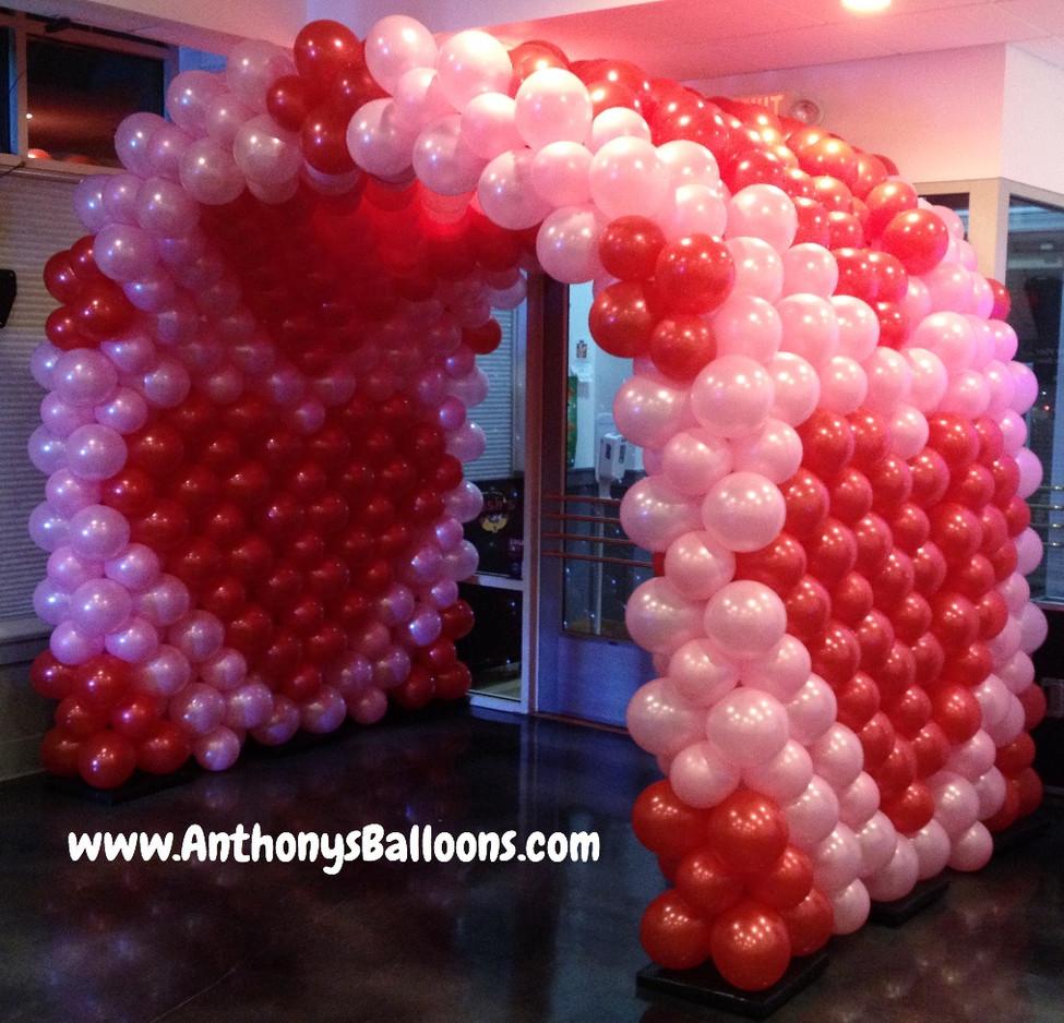 Valentine's Day Balloon Tunnel