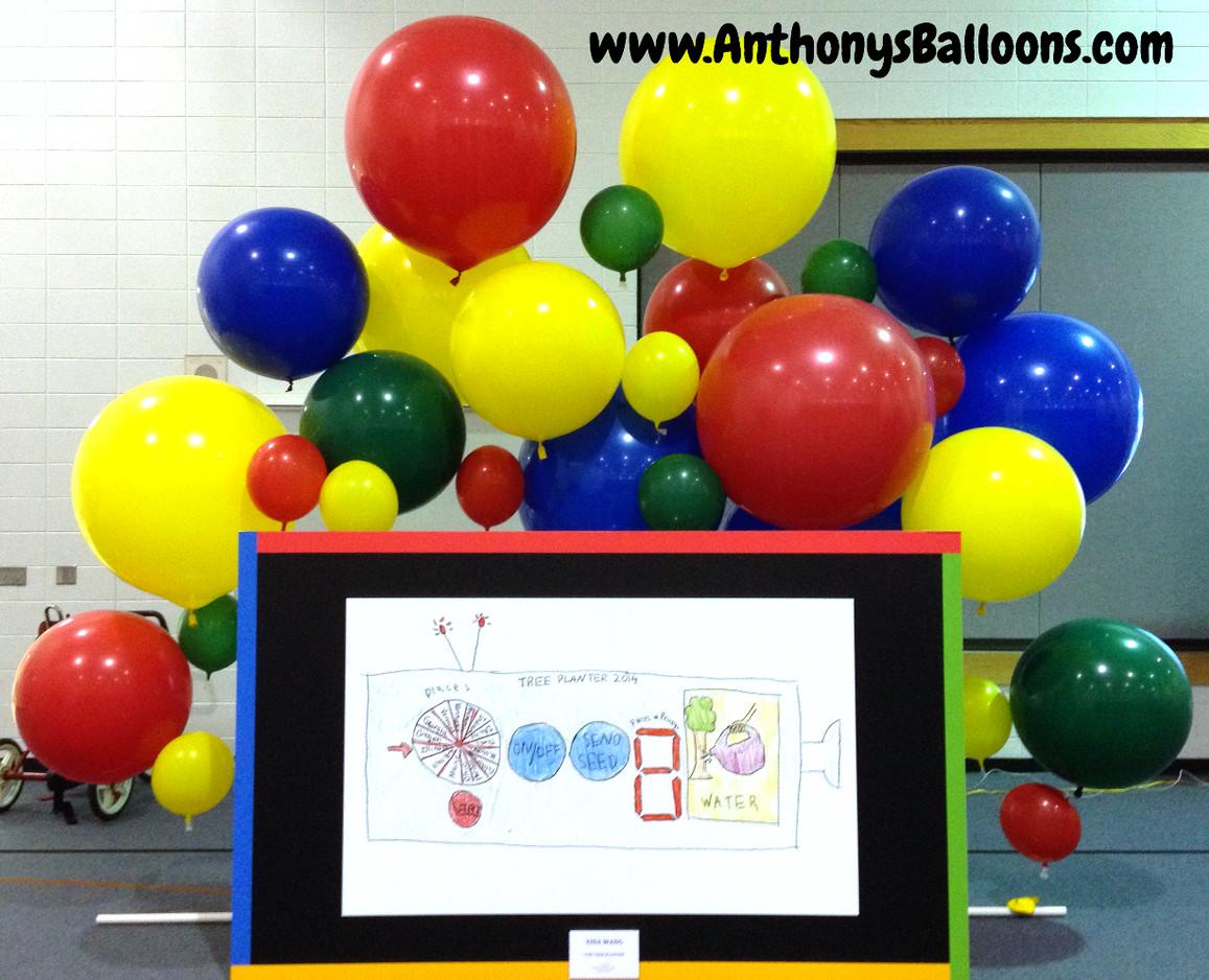 Floating Balloon Wall