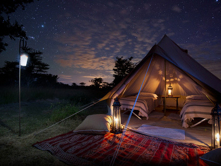 Fly Camping under the Stars