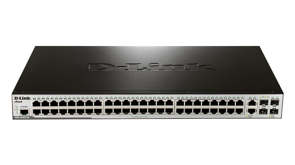 D-Link DES-3200-52/E L2 Managed Fast Switch