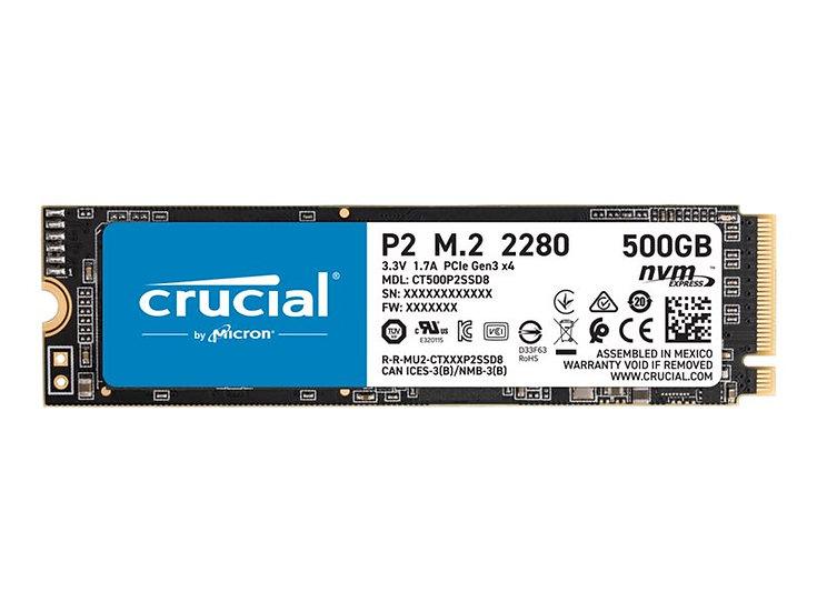 Crucial P2 M.2 SSD 500GB