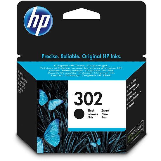 HP Druckkopf mit Tinte 302 schwarz