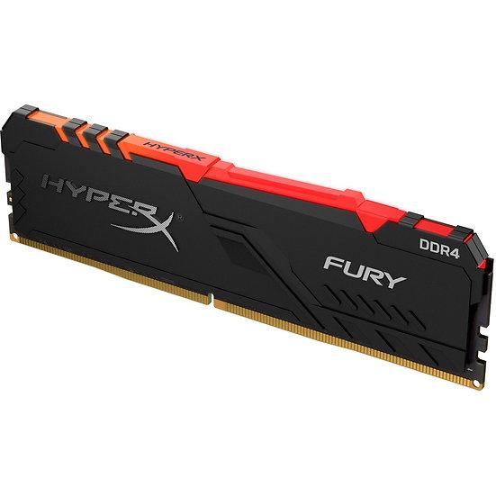 Kingston HyperX FURY RGB 3200 MHz DDR4-8GB (1x8GB)