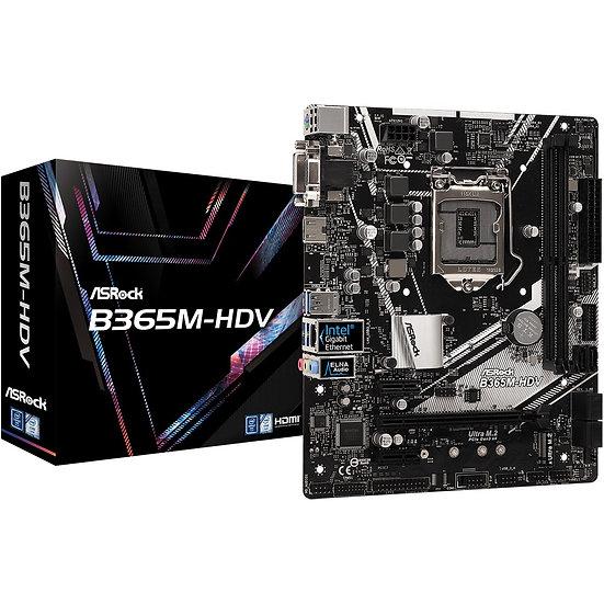 ASRock B365M-HDV (90-MXB9R0-A0UAYZ)