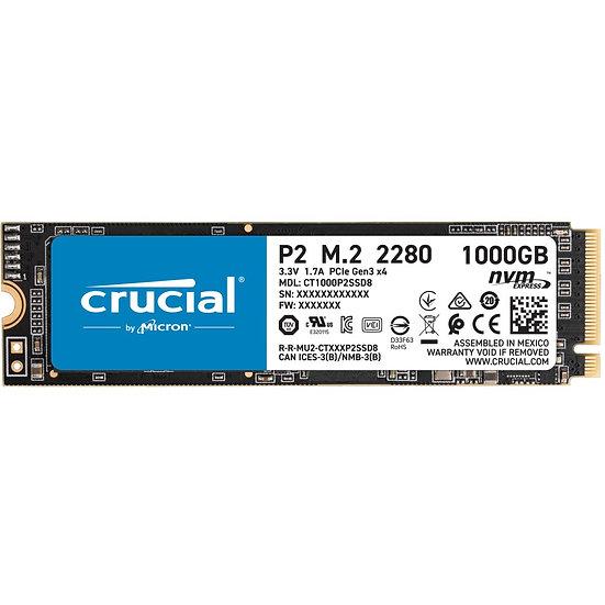Crucial P2 SSD 1TB, M.2 (CT1000P2SSD8)