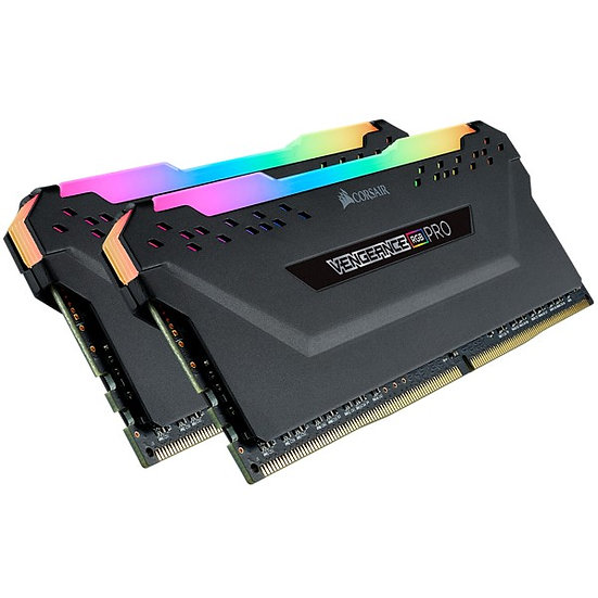 Corsair Vengeance RGB white 3200 MHz DDR4-16GB (2x8GB)