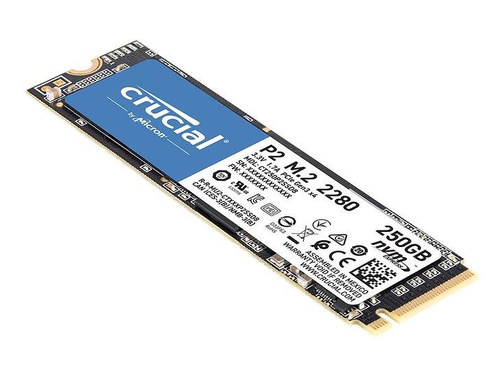 Crucial P2 M.2 SSD 250GB