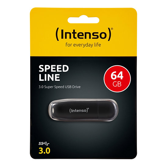 Intenso Speed Line 3.0 USB Stick 64GB