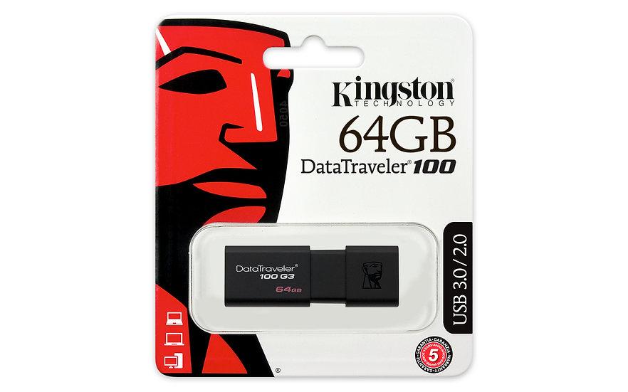 Kingston DT100/G3 3.0 USB Stick 64GB