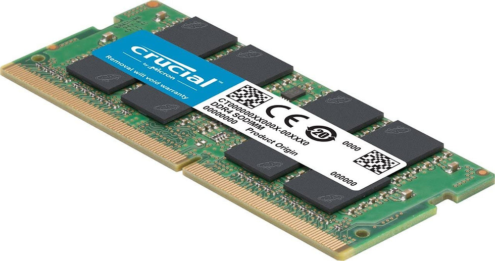 Crucial SO-DIMM 4GB, DDR4-2666, CL19-19-19 (CT4G4SFS8266)