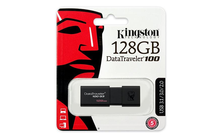Kingston DataTraveler DT100/G3 3.0 128GB