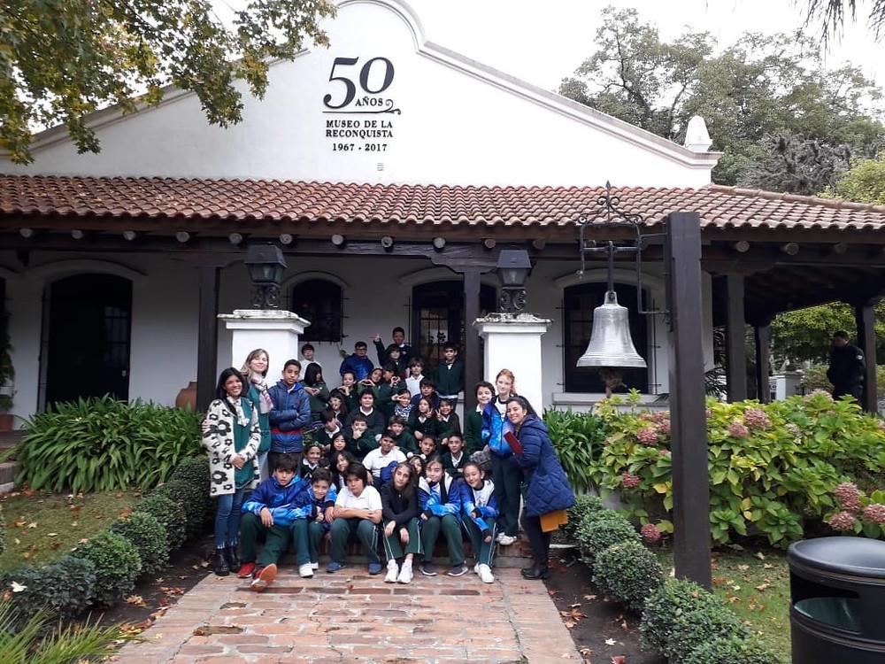 Alumnos de 5º y 6º grado del Colegio San Fernando visitan el Museo de la Reconquista
