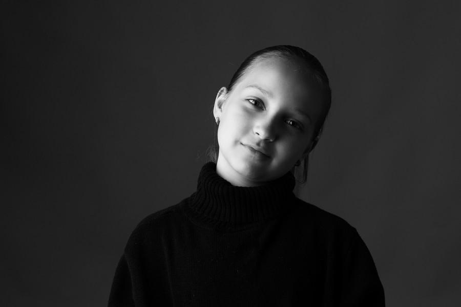 portrét dítěte