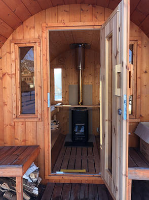 Eingang Saunafassl