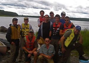 men canoeing mens work personal growth outdoor adventure