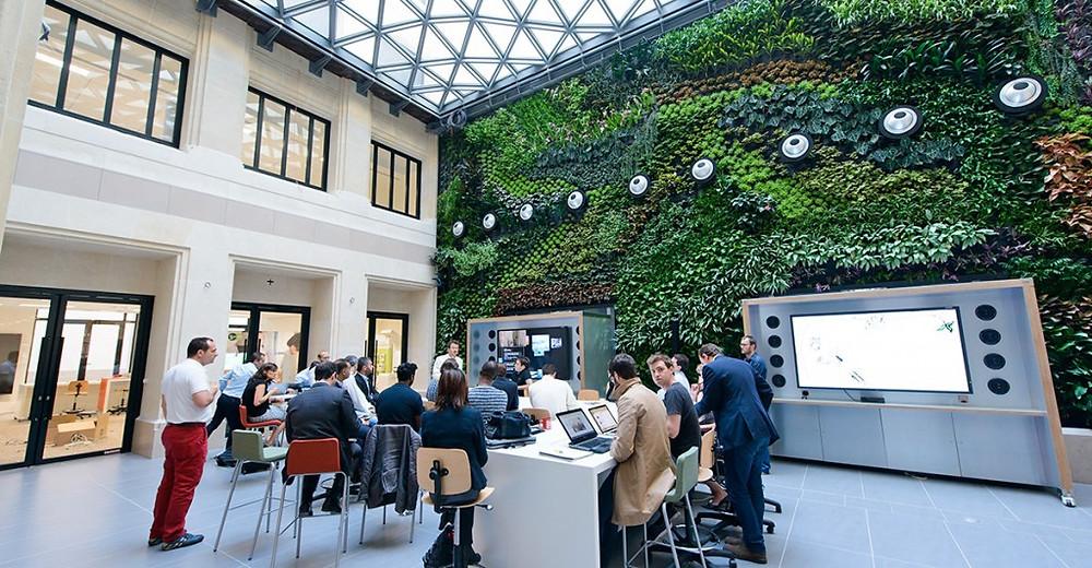 Our new offices @Le Village by CA Paris