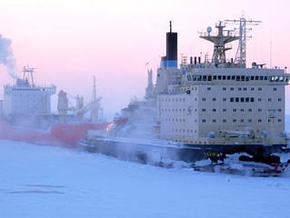 Атомоход «Таймыр» обеспечил проводку каравана к порту Сабетта