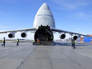 «Руслан» доставил в Сабетту оборудование для завода «Ямал СПГ»