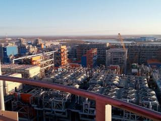 Пусконаладочные работы начались на первой линии завода «Ямал СПГ»