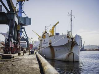 В Мурманском морском торговом порту ошвартовалась Бельгийская дноуглубительная флотилия