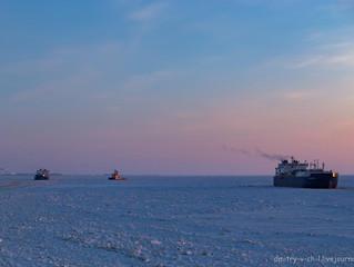 Два новых танкера впервые зимой проходят Севморпуть без ледокола в Сабетту