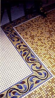 Mosaic Les Deux Magot by French Artist Christophe Denoux