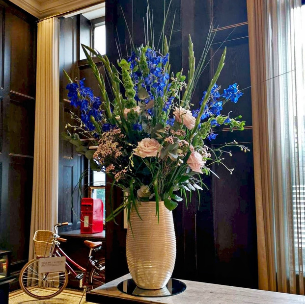 Corporate flowers.