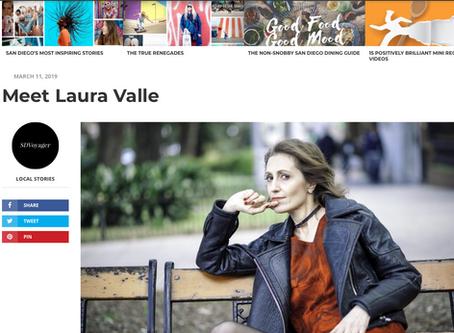 San Diego Voyager interviews Laura