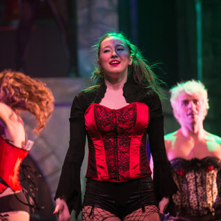 Jocelyn in The Rocky Horror Show at St. Clair College.