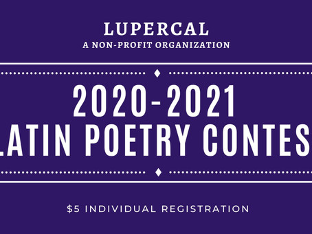 Announcing the Winners of the 2020 Lupercal Poetry Contest