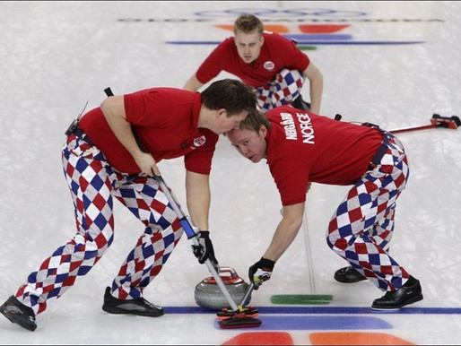 Vi arrangerer curling for unge lovende i logistikkbransjen