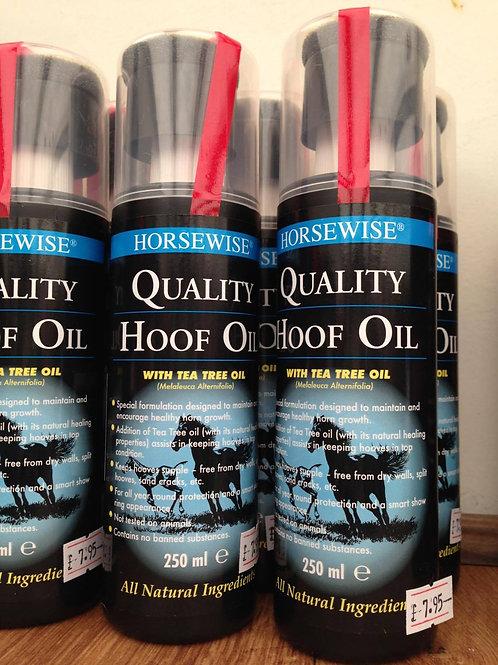 Horsewise Hoof Oil & Applicator - 250ml