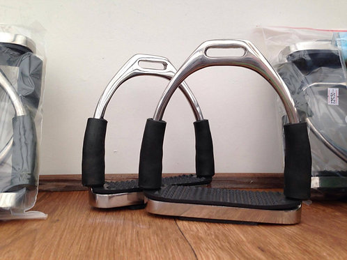 Rhinegold Flexi-Irons With Treads