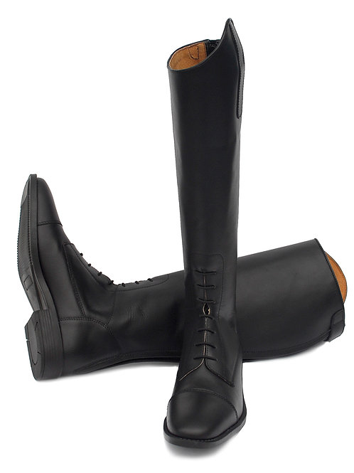 Rhinegold Berlin Long Leather Boot