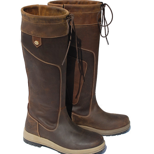Rhinegold 'Elite' Vermont Leather Country Boots - Standard